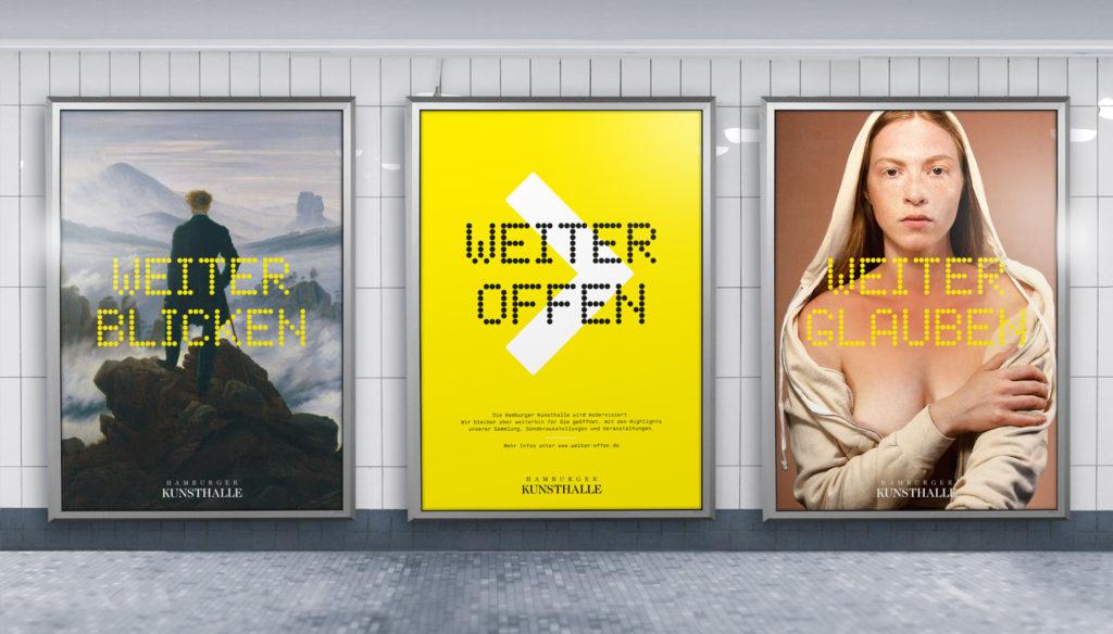 Hamburger Kunsthalle: Weiter Offen