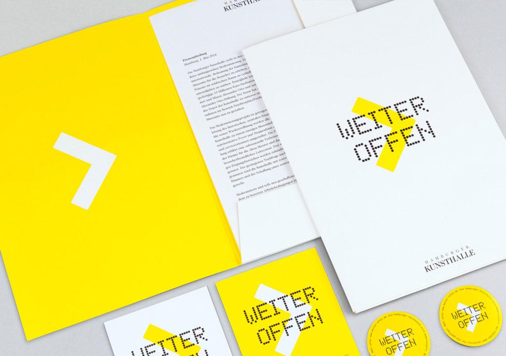 Hamburger Kunsthalle: Weiter Offen. Press-Kit
