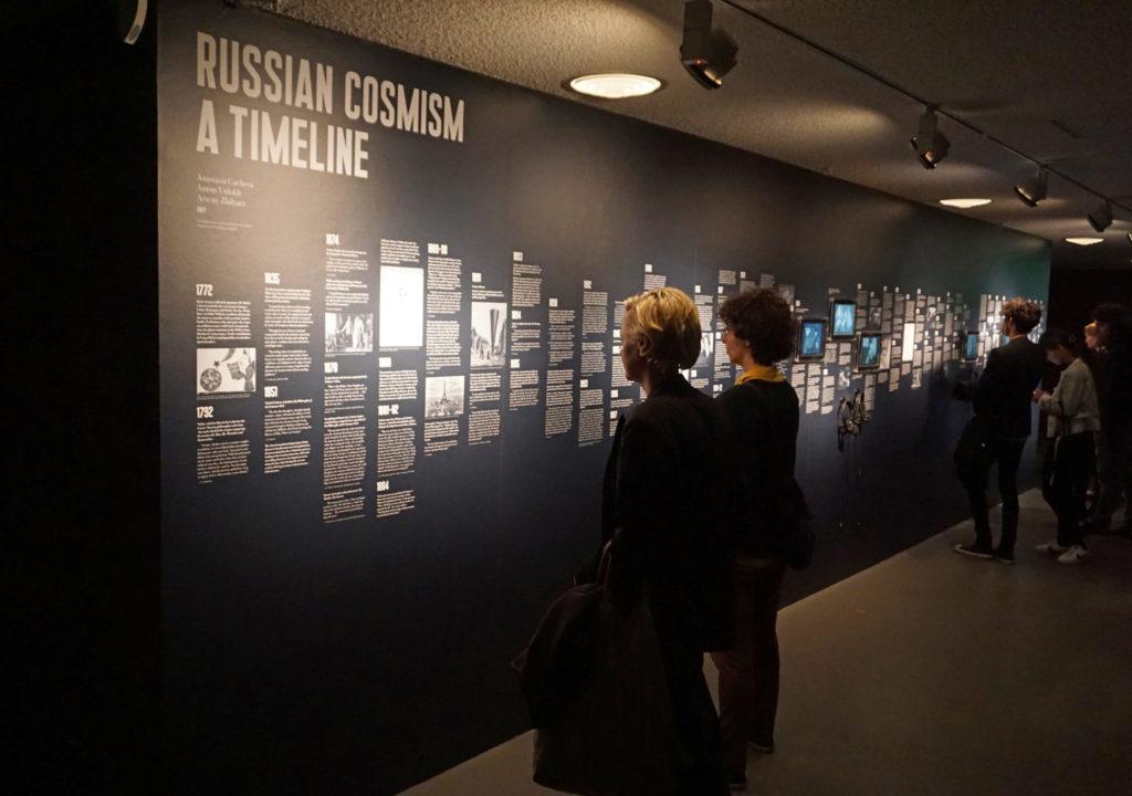 Haus der Kulturen der Welt: Russischer Kosmismus Zeitstrahl