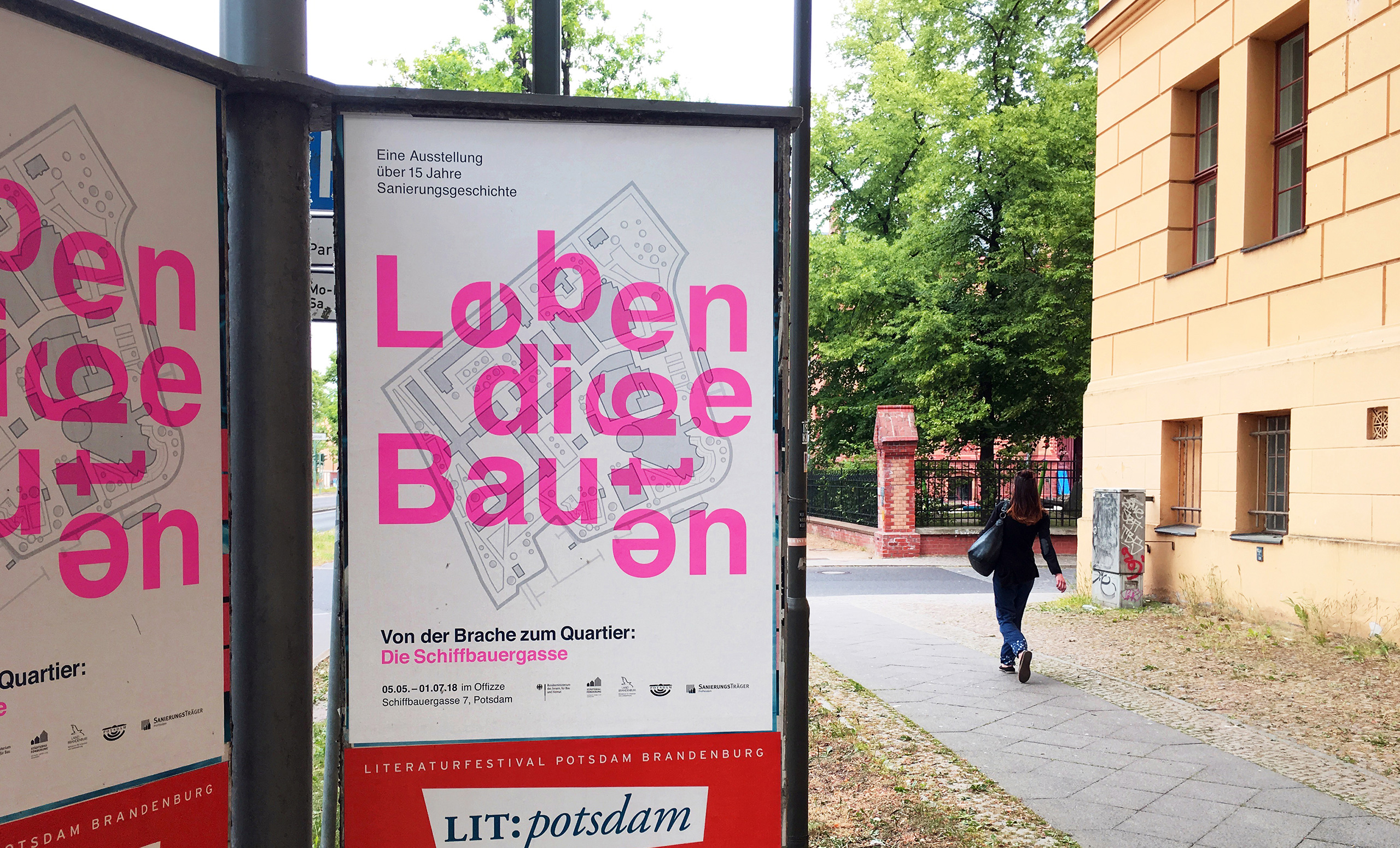 ProPotsdam: Lebendige Bauten, Poster