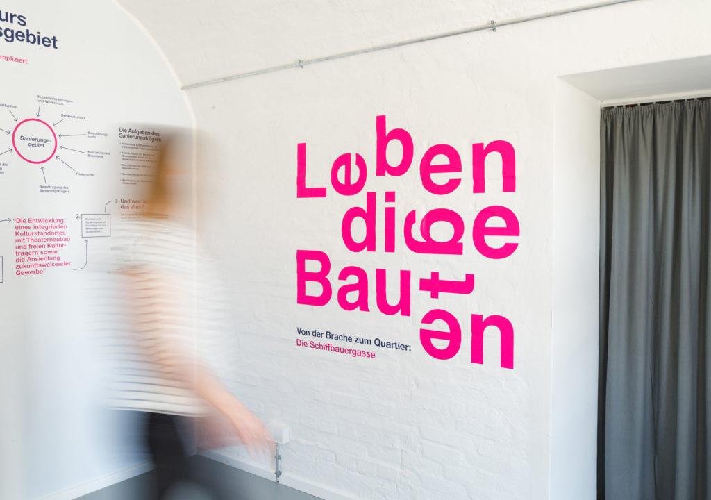 ProPotsdam: Lebendige Bauten, Titelwand