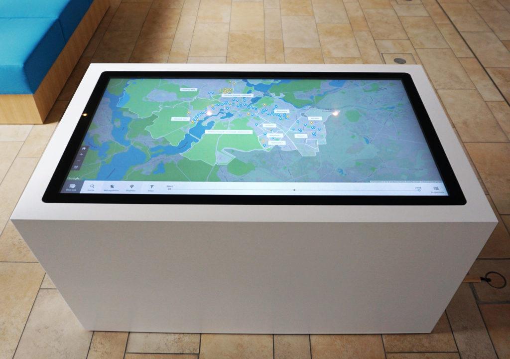 ProPotsdam: Wir machen Stadt, Foyer Touch Tisch