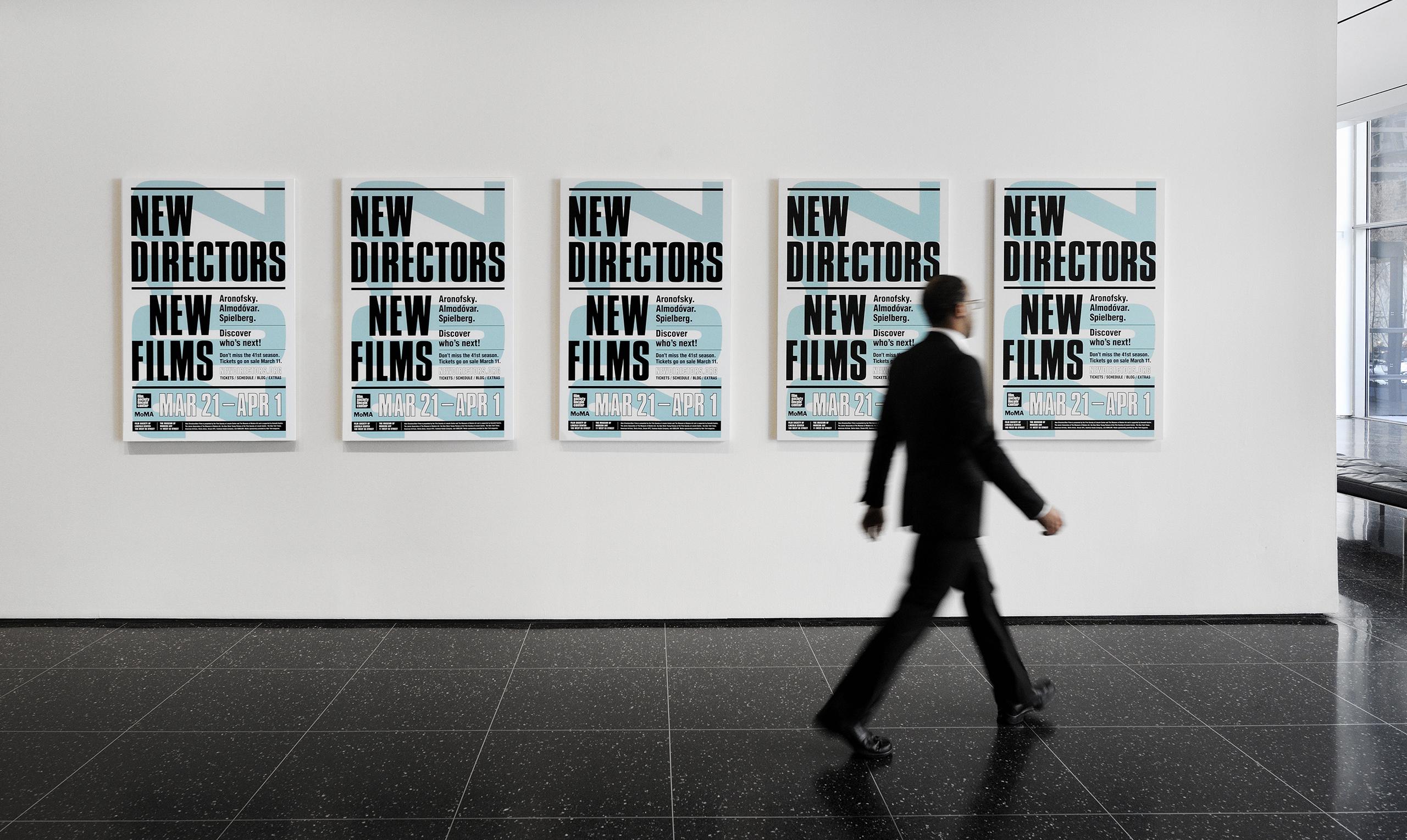 Poster für New Directors New Films